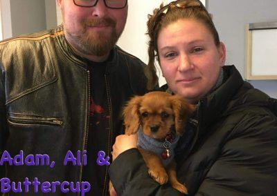 Adam, Ali & Buttercup